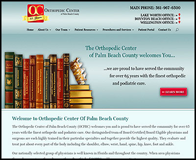 orthopedic center of palm beach